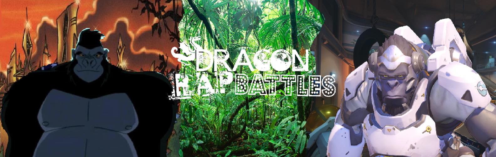 Winston VS Gorilla Grodd by dragonsblood23