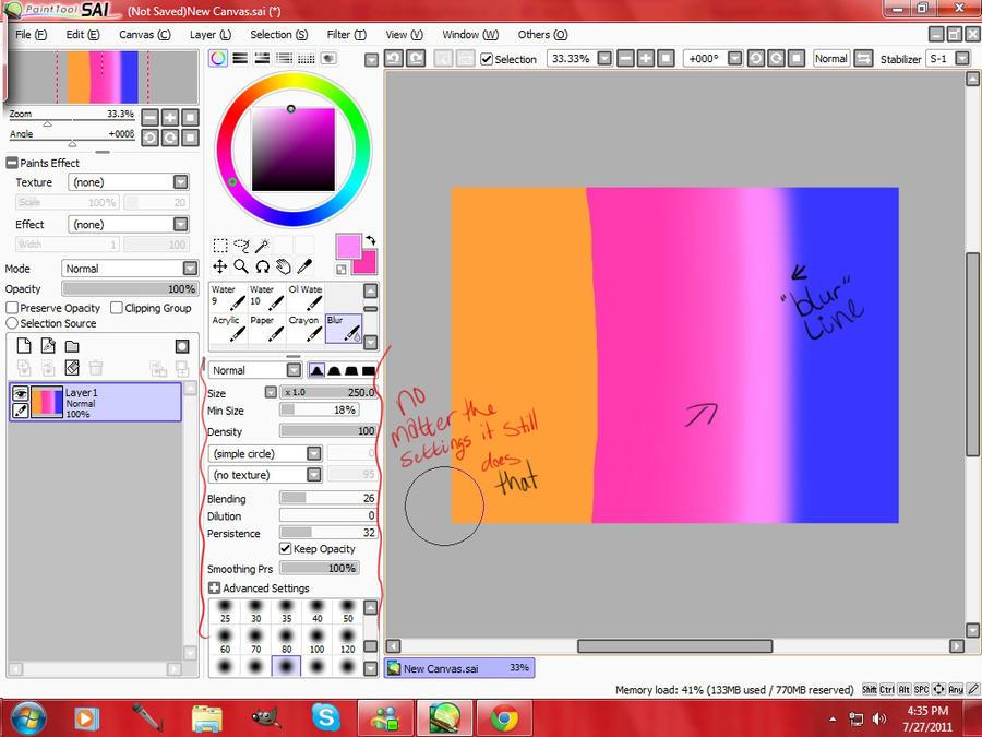 Paint tool sai для windows 7