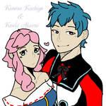 Kimine Kiichigo x Kouki Akarui-Ekkoberry and KIRA  by Kimine-Rin02