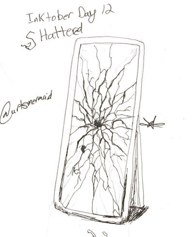 Inktober 2017 Day 12: Shattered by ArtsMermaid