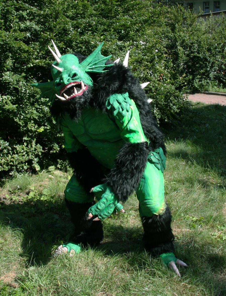 warhammer river troll costume