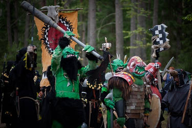 Warhammer greenskins by BIGBUBBASSTUFF