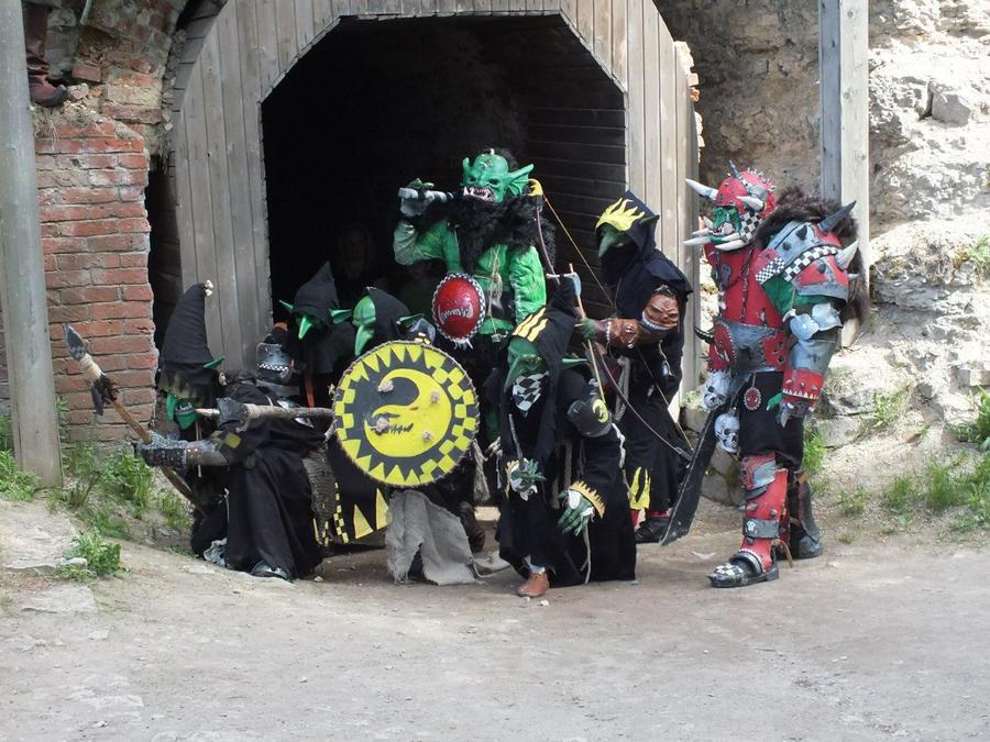warhammer orcs and goblins by BIGBUBBASSTUFF