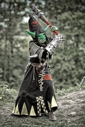 Warhammer night goblin warboss