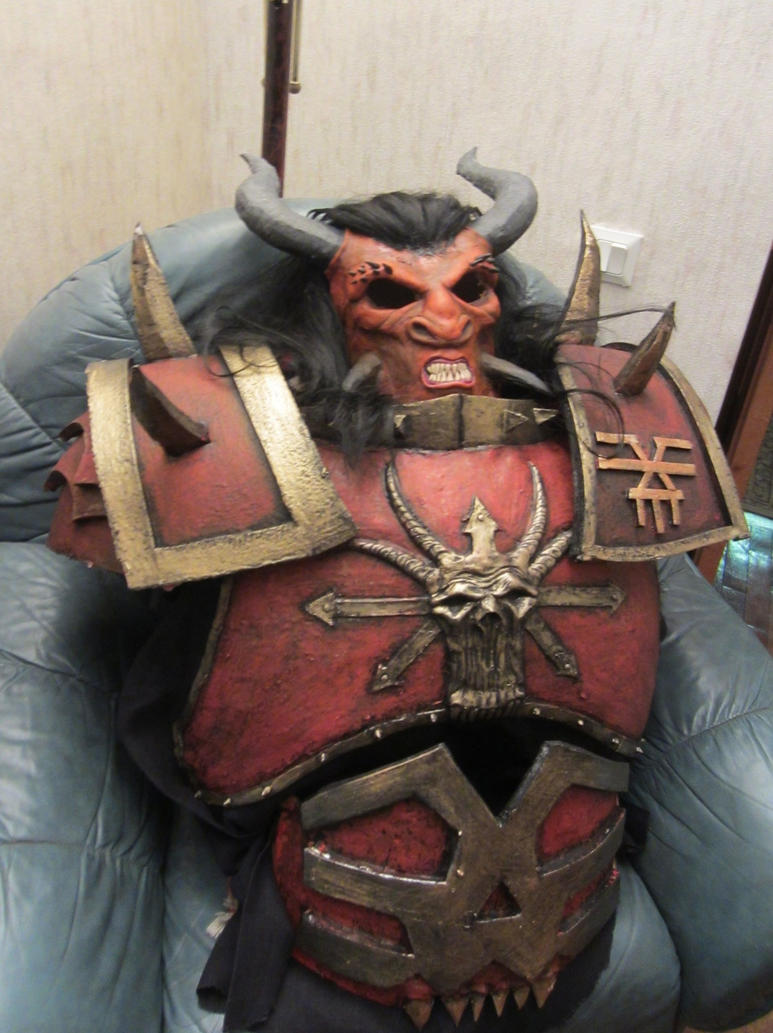 Khorne chosen armor by BIGBUBBASSTUFF