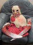 necromorph mask and torso