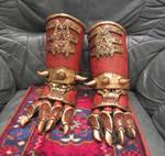 warhammer chosen of Khorne glove