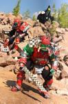 warhammer orcs and goblin by BIGBUBBASSTUFF