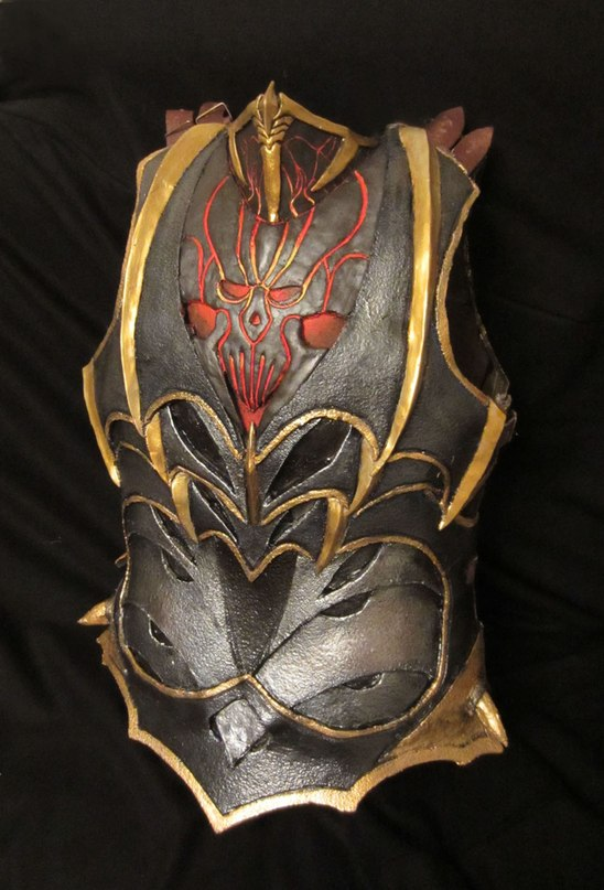 warhammer larp dark elf armour by BIGBUBBASSTUFF