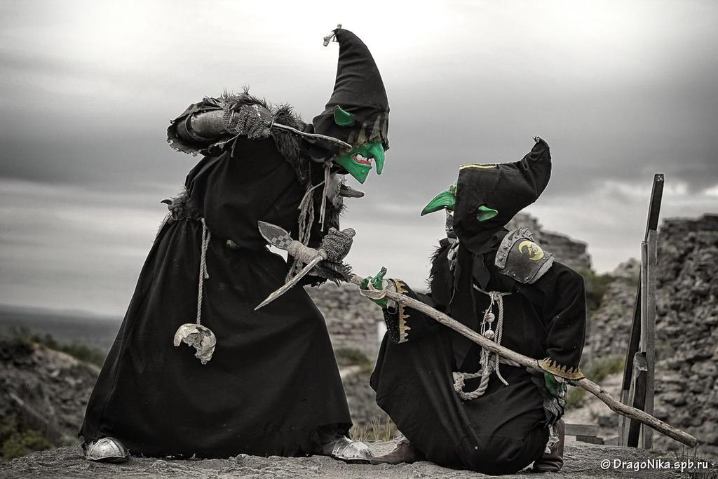 Warhammer night goblins by BIGBUBBASSTUFF