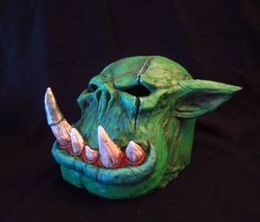 Warhammer orc mask