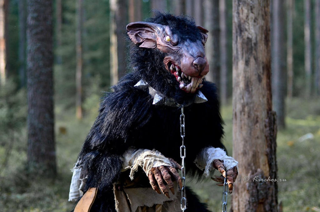 Warhammer skaven mask Larp by BIGBUBBASSTUFF