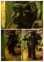 Larp Spider costume by BIGBUBBASSTUFF