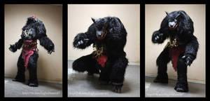 Larp werewolf costume
