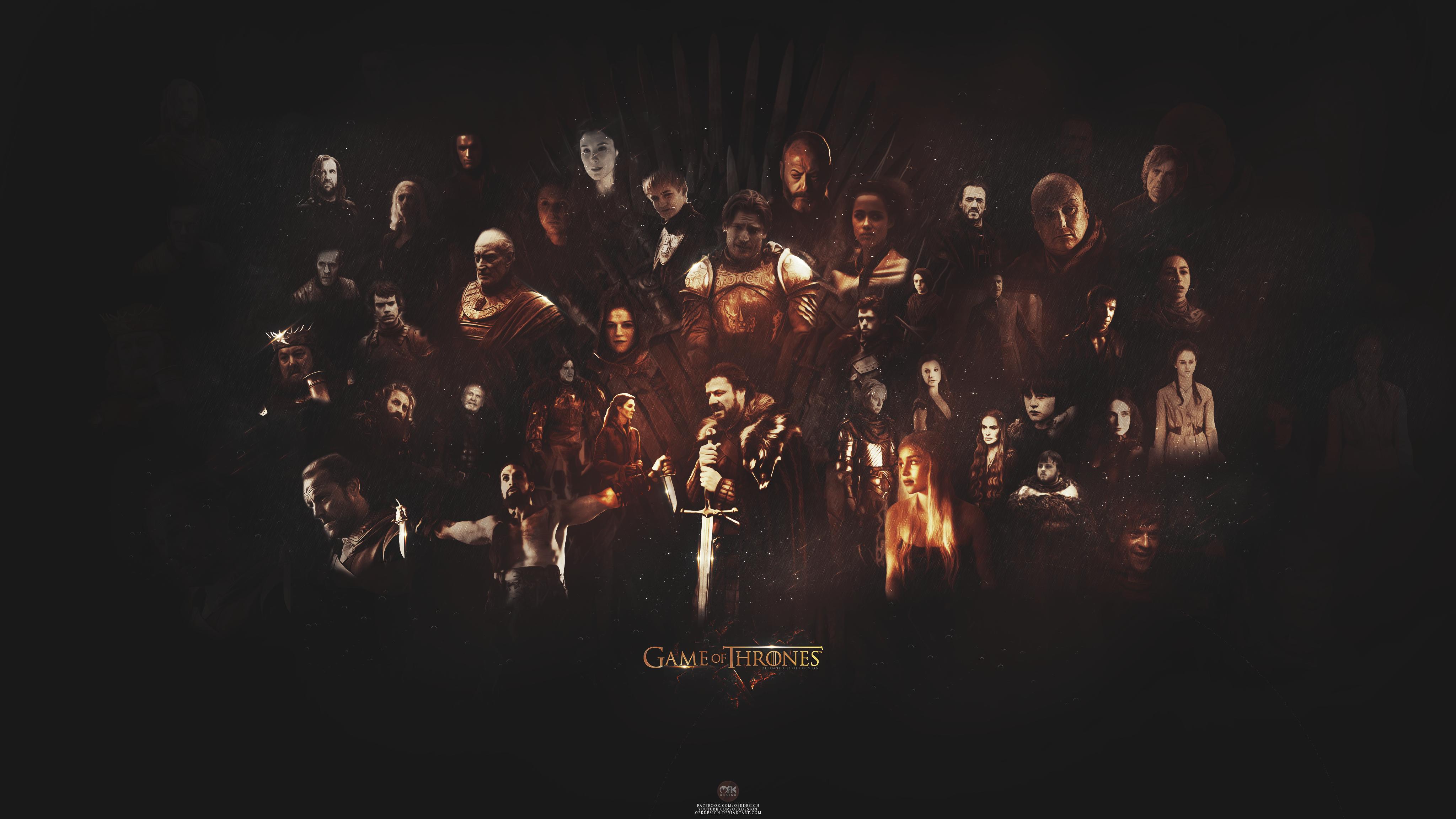 Game Wallpaper 4k Game Of Thrones Wallpaper Wallpapersafari