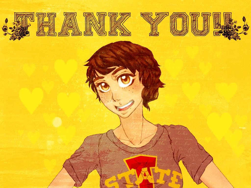 Thank you card by nova7011