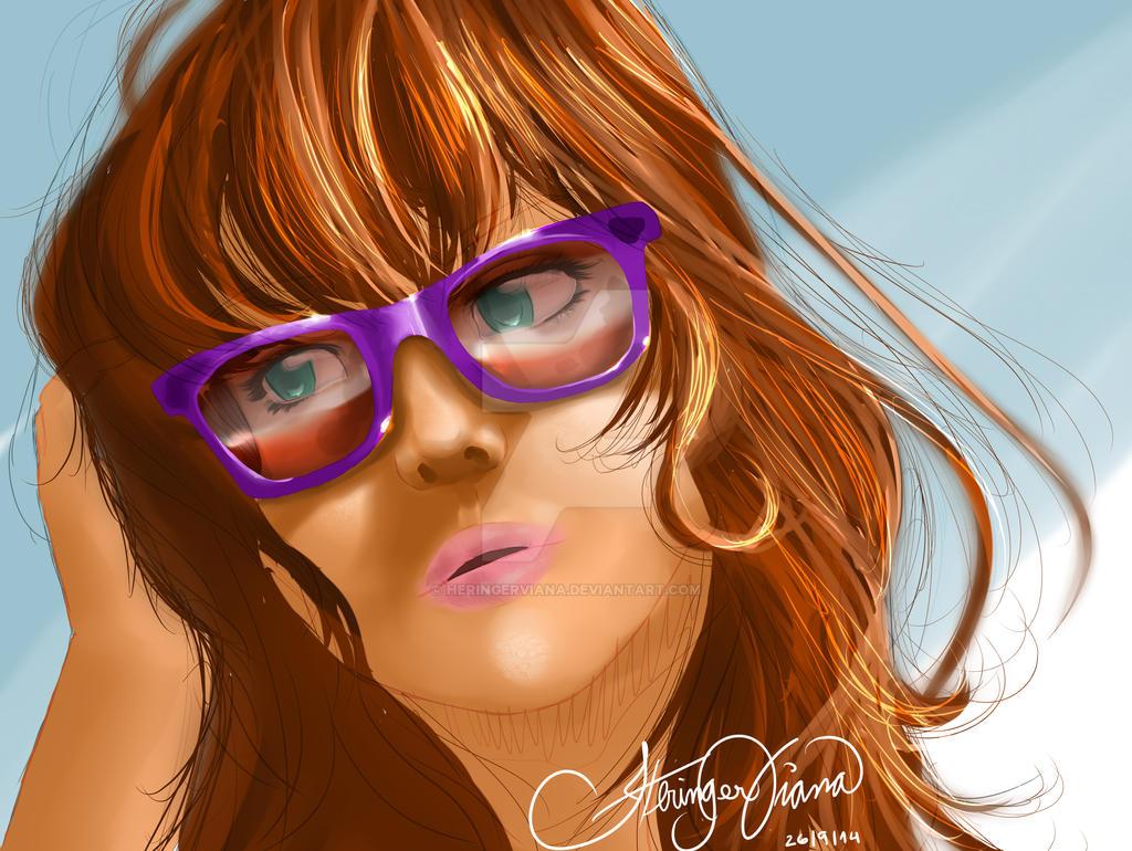 Sunglass Girl by HeringerViana