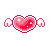 Kawaii Pixel Heart Icon by Pastel-BunBun