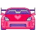 Kawaii Pixel Car by Pastel-BunBun