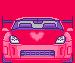Kawaii Pixel Car by Pastel-BunBun