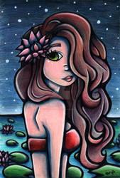 Water Lily by Pastel-BunBun DA