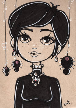 Simple Elegance #INKTOBER by Pastel-BunBun DA