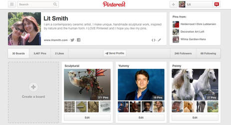 PINTEREST by Lit-Smith