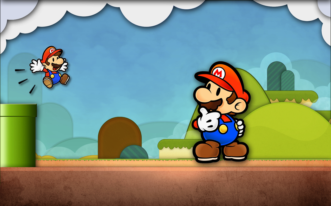 Paper Mario HD Wallpaper > Mario Widescreen Wallpaper HD 1920x