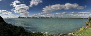 Detroit River, Michigan
