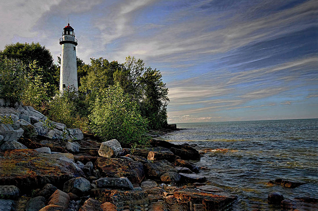 Pointe Aux Barques Lighthouse, Michigan