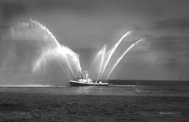 Bethel F. Gifford Fireboat, San Pedro, Cali.