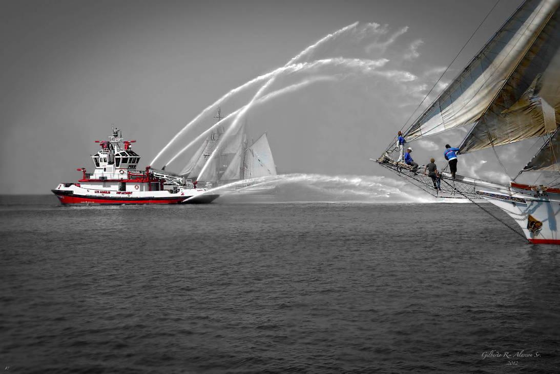 Fireboat 2 by PhotographerGilberto