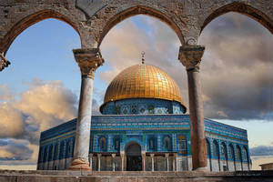 The Golden Dome of the Rock, Old Jerusalem