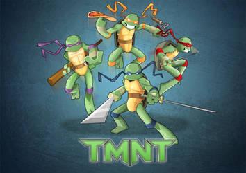 TMNT Fan-art by sukashippe