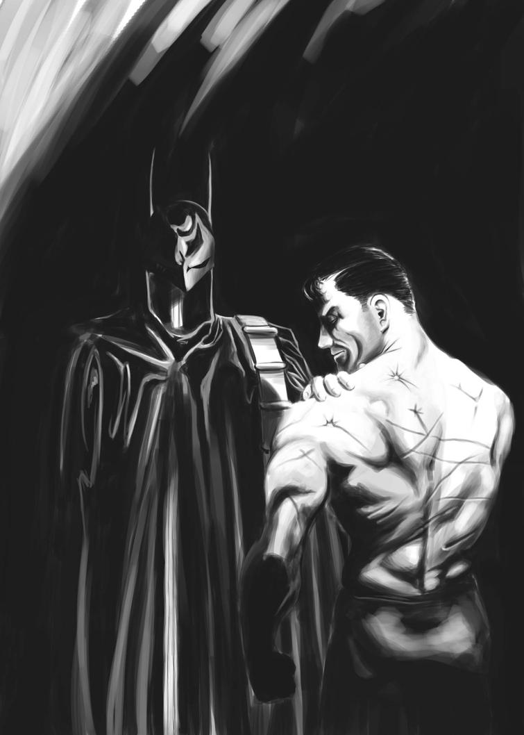 Alex Ross Batman Study by Xanathin
