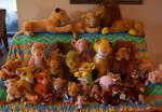 Lion King plush collection