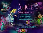 Alice in Wonderland Desktop Background Montage