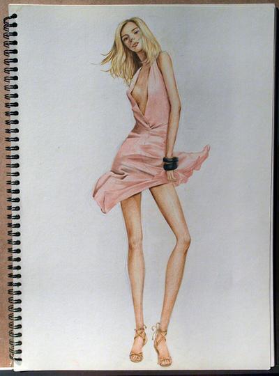 Fashion Illustration No1 by soojin926