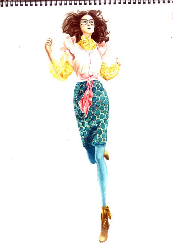 Fashion Illustration No6 by soojin926