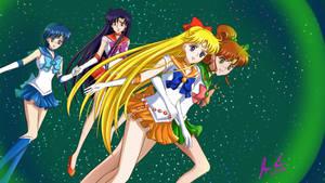 Sailor Jupiter to the rescue! (kinda)