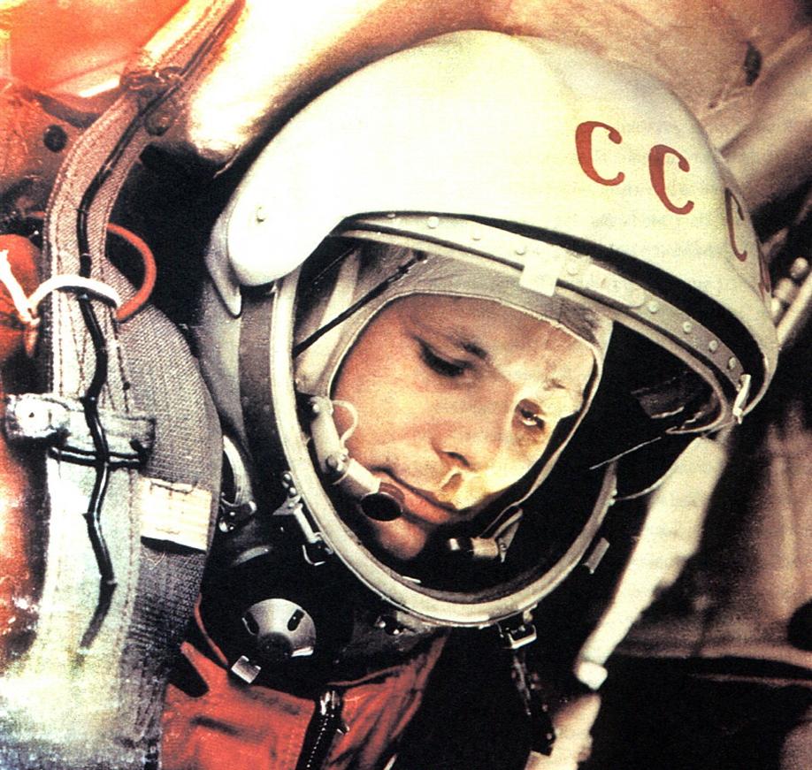 Yuri Gagarin by Edloidas