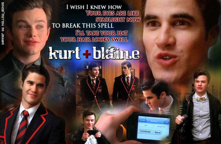 Klaine glee wallpaper