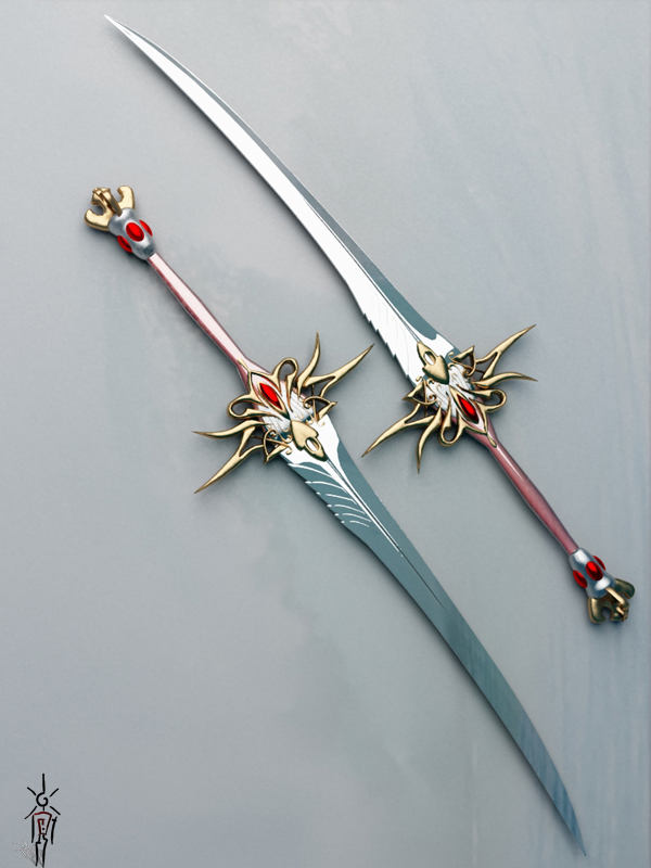 Dual Blades By Odedalo On Deviantart