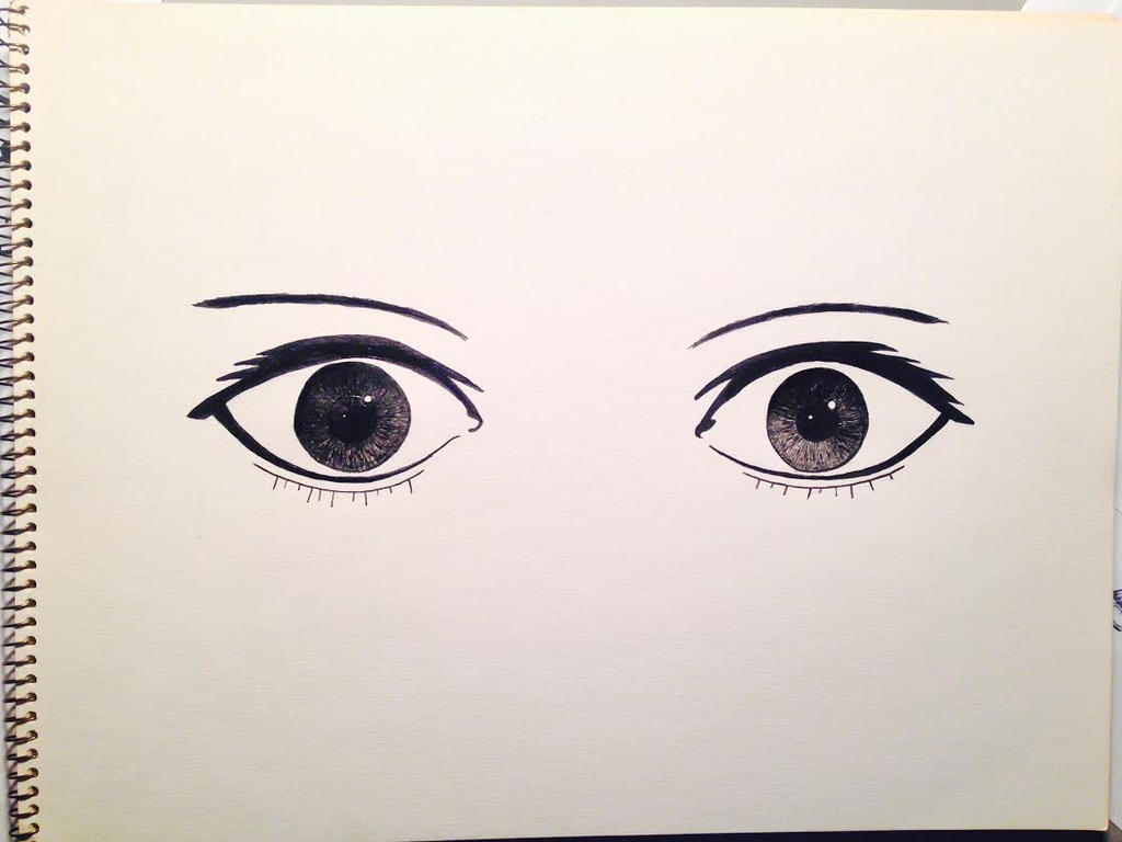 just a random pair of eyes by 2846mn on deviantart