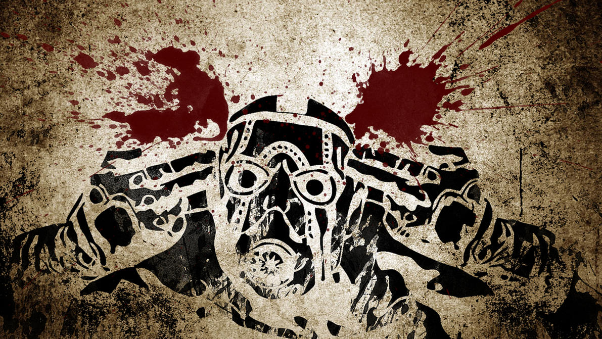 Borderlands psycho splats by plopomon on deviantart borderlands psycho splats by plopomon voltagebd Image collections