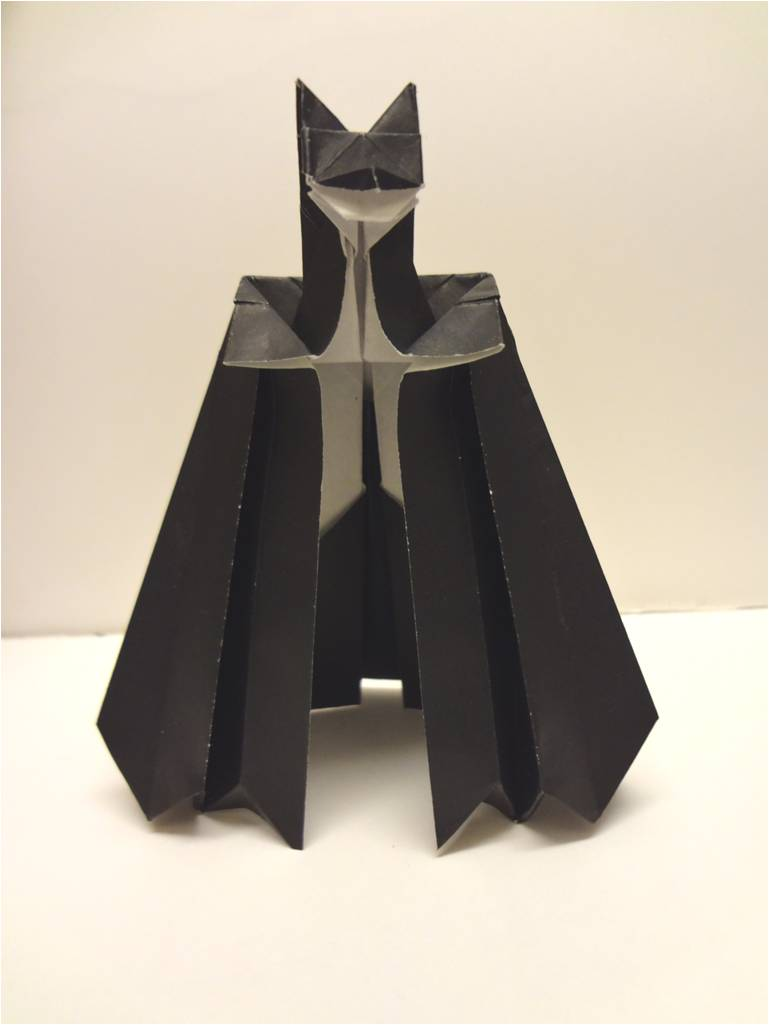 Batman Origami By Ivy11 On Deviantart