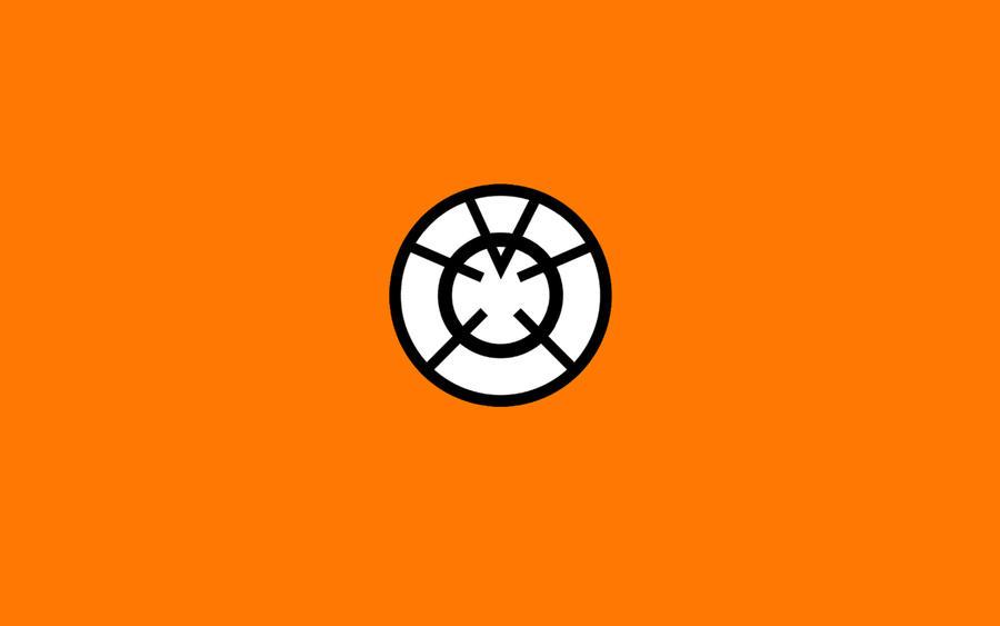 Orange Lantern Wallpaper