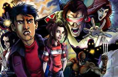 X-men evolution by saltheman