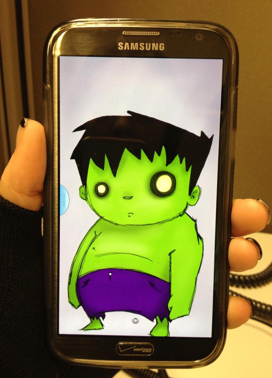 Hulk Chibi Chibi Hulk by Animeelf