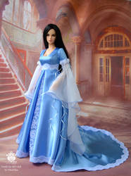 Elf dress for bjd dolls. by NikaStepanova